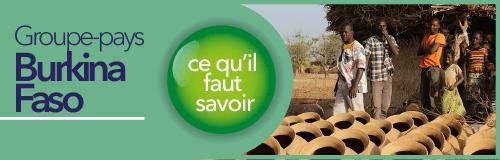 So coopération échange entre les acteur qui interviennent au Burkina Faso