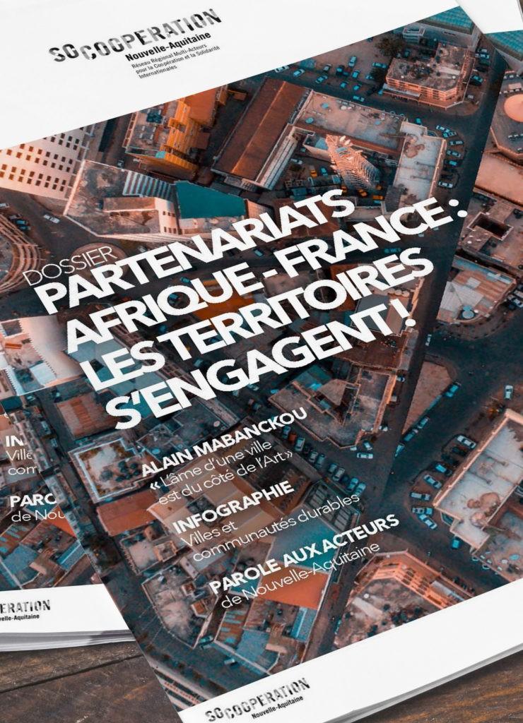 revue Afrique-France de SO coopération solidarité internationale et coopération décentralisée.